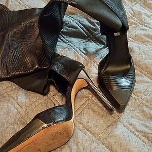 BCBG Maxazria Runway Stiletto boots